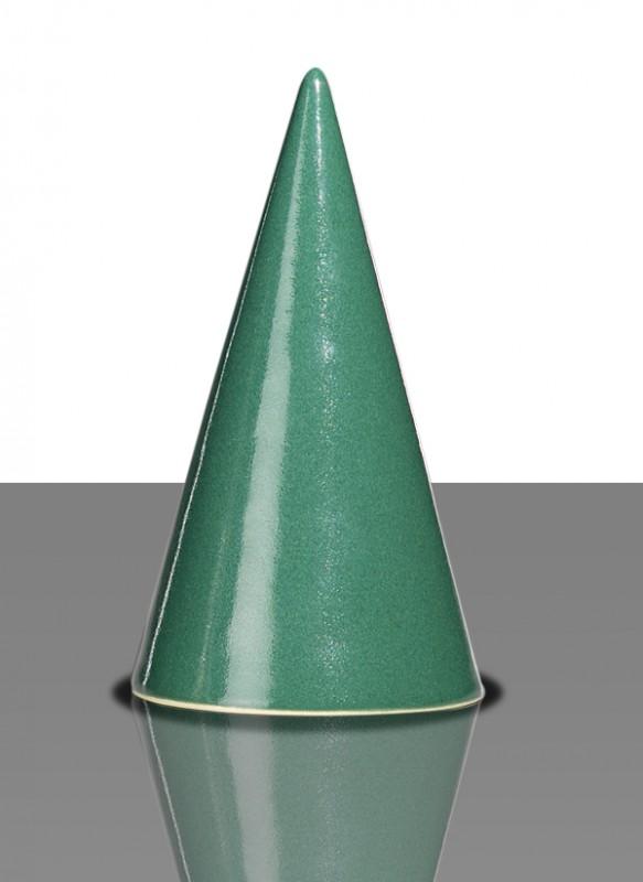 Glasur 1122 Tannengrün, seidenmatt