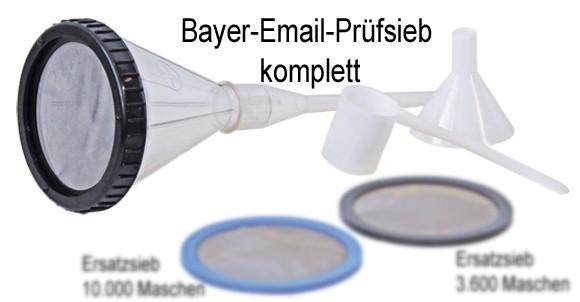Bayer-Email-Prüfsieb 3.600 MA
