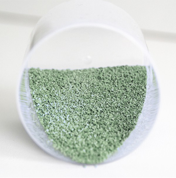 Glasurgranulat Grün