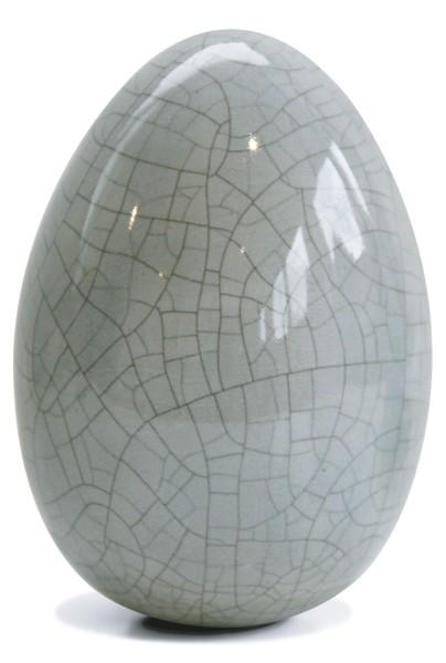 Flüssigglasur 04706 Grau craquelée, glänzend
